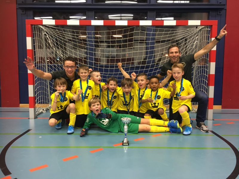 F-Junioren: 1. Platz in Goldach